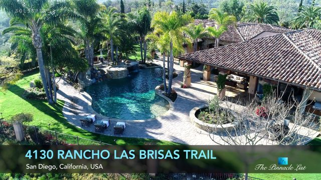 Rancho Pacifica Home - 4130 Rancho Las Brisas Trail, San Diego, CA, USA - Luxury Real Estate - Video