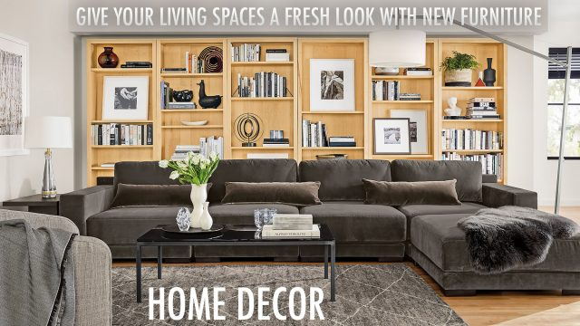 Home Decor - Give Your Living Spaces A Fresh Look With New Furniture
