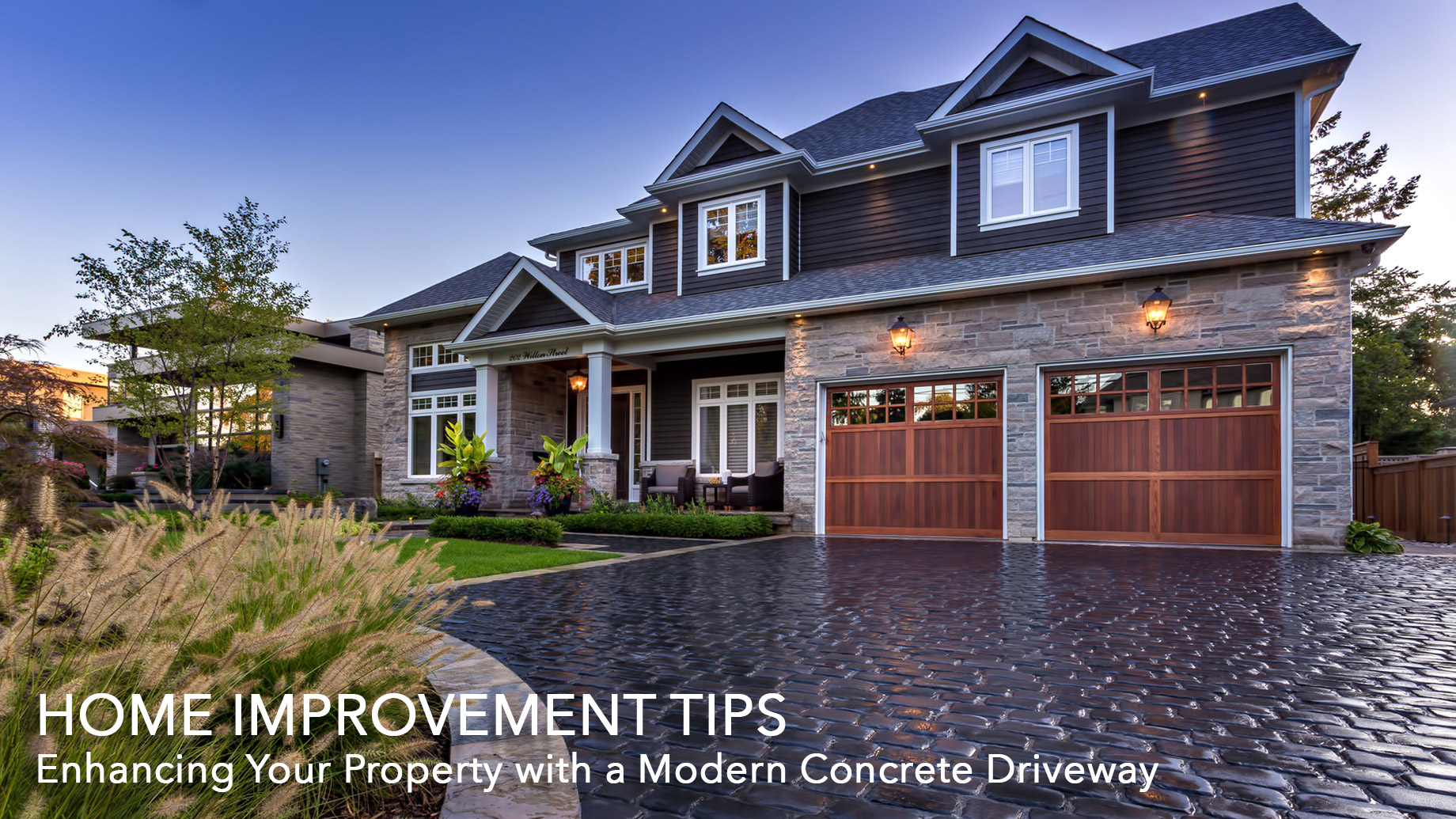 Home Improvement Tips - Enhancing Your Property with a Modern Concrete Driveway