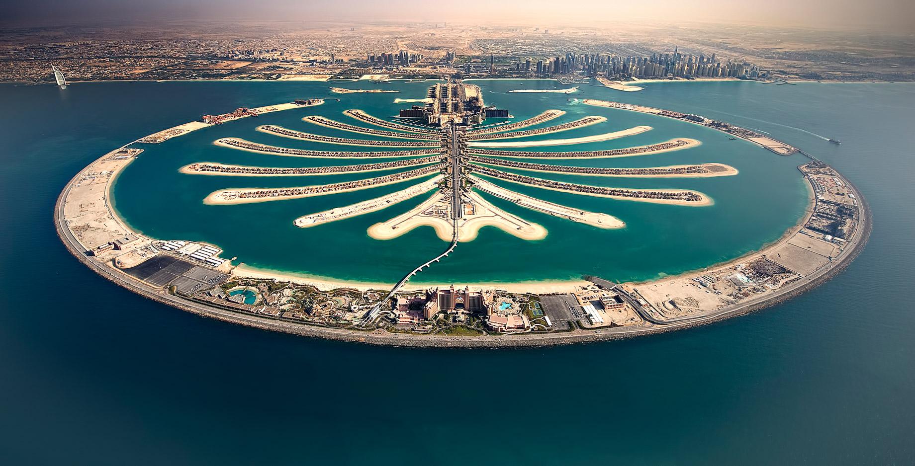 Palm Jumeirah Island - Dubai, United Arab Emirates