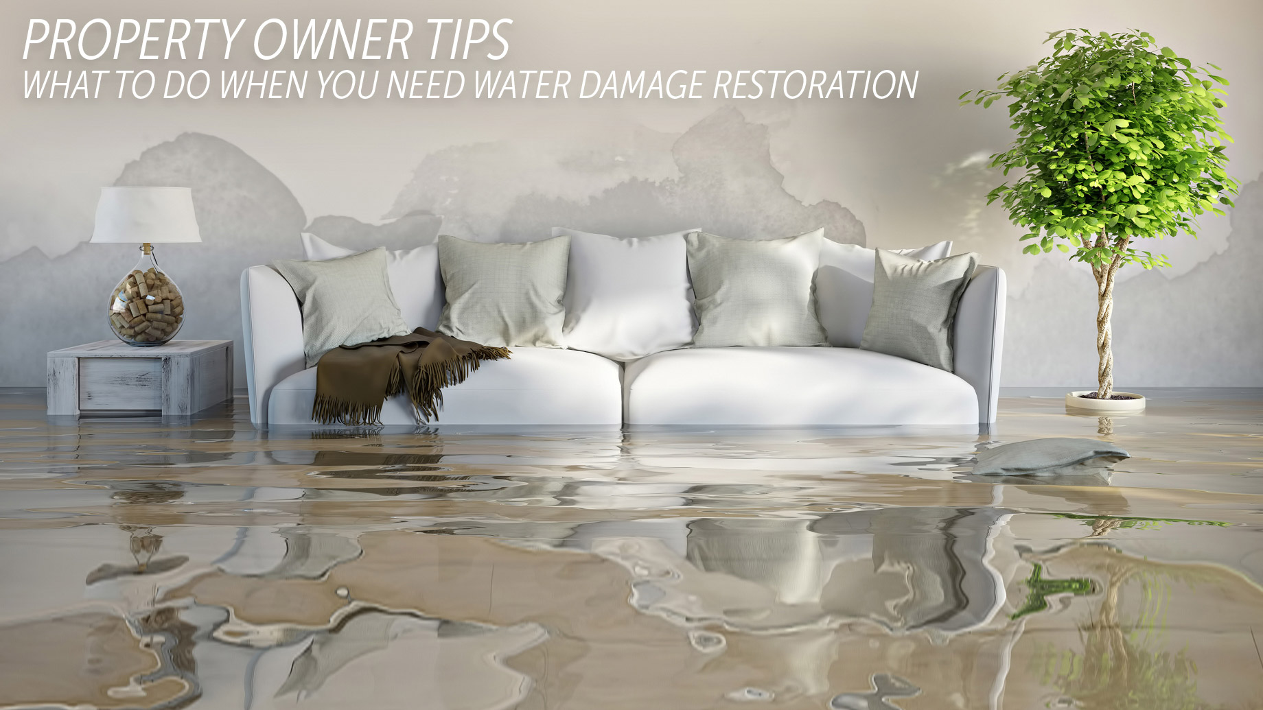 Property Owner Tips - What to Do When You Need Water Damage Restoration