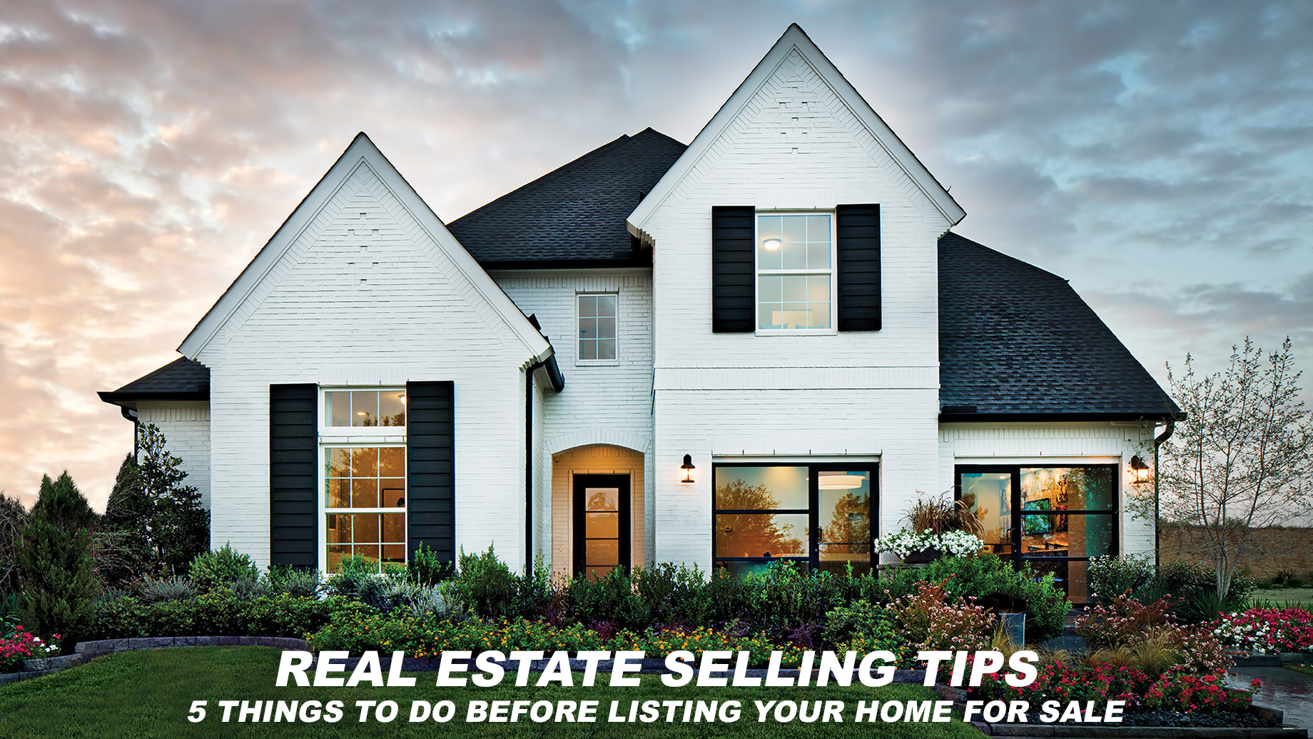 Real Estate Selling Tips - 5 Things to Do Before Listing Your Home For Sale