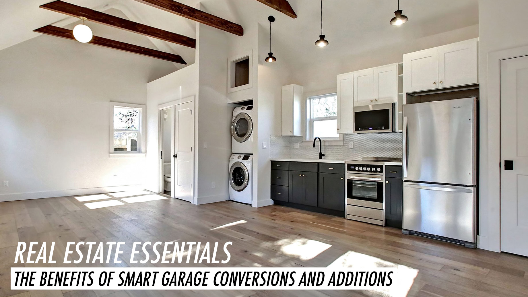 Real Estate Essentials - The Benefits of Smart Garage Conversions and Additions