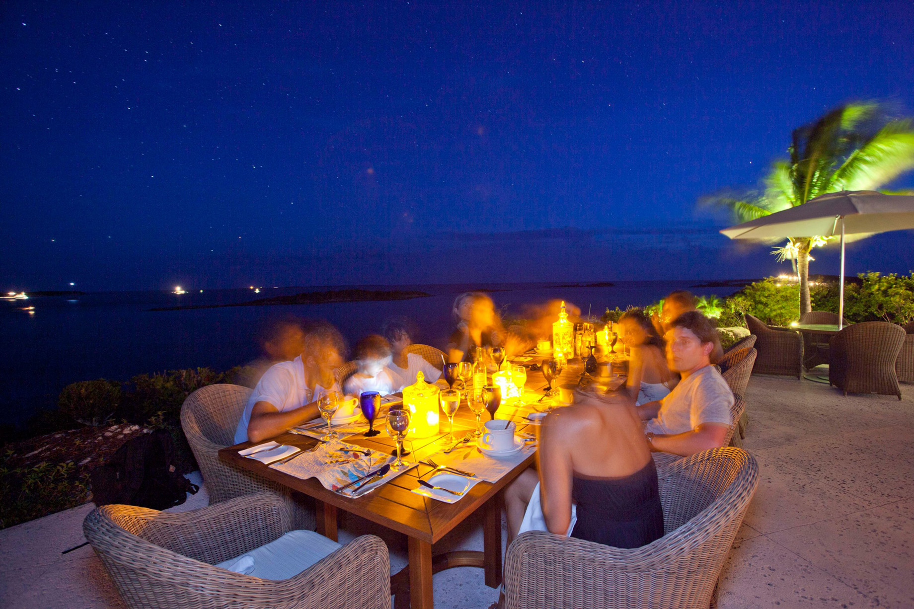 Dine at the Hill House Restaurant on Fowl Cay Island - Take A Luxury Getaway To The Bahamas