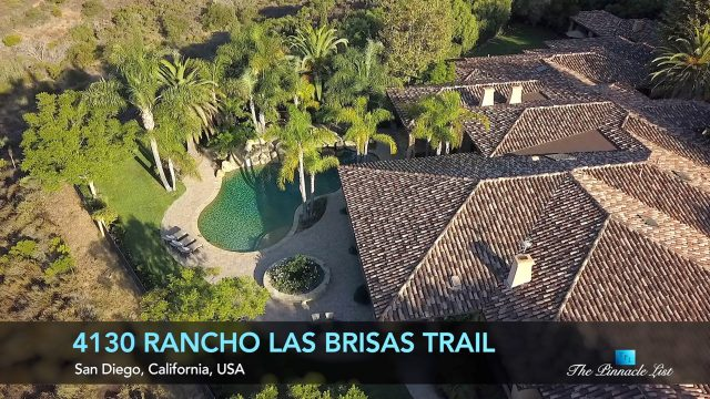 Trophy Estate - 4130 Rancho Las Brisas Trail, San Diego, CA, USA - Luxury Real Estate - Video