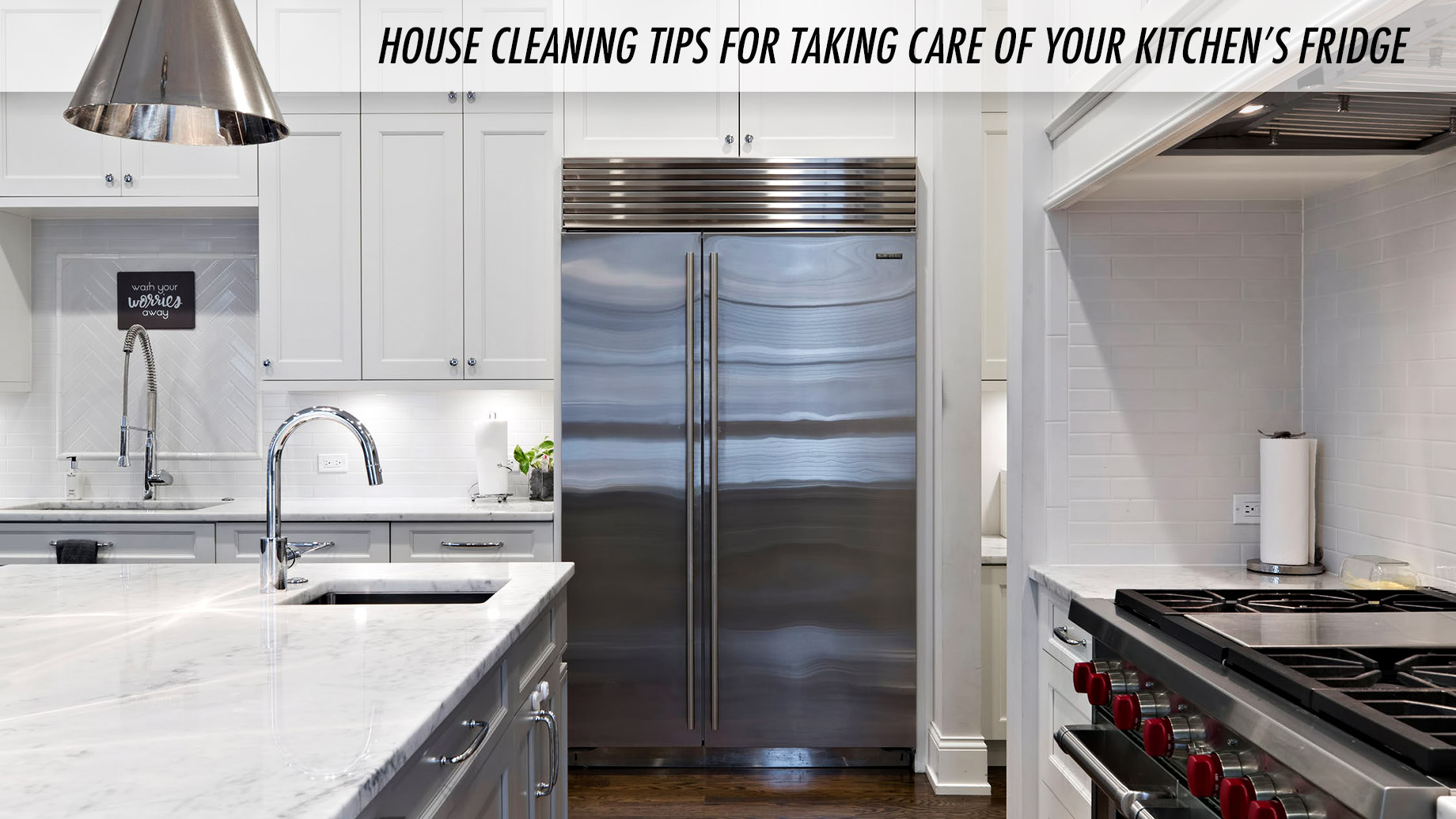 House Cleaning Tips for Taking Care of Your Kitchen's Fridge