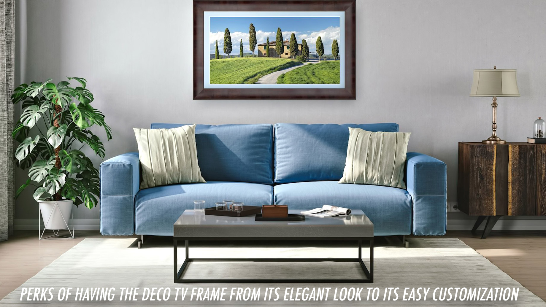 Perks of Having the Deco TV Frame from its Elegant Look to its Easy Customization