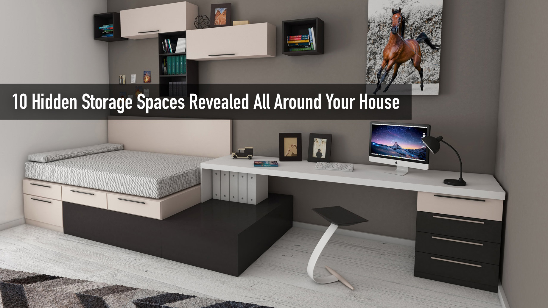 Remove the Clutter - 10 Hidden Storage Spaces Revealed All Around Your House