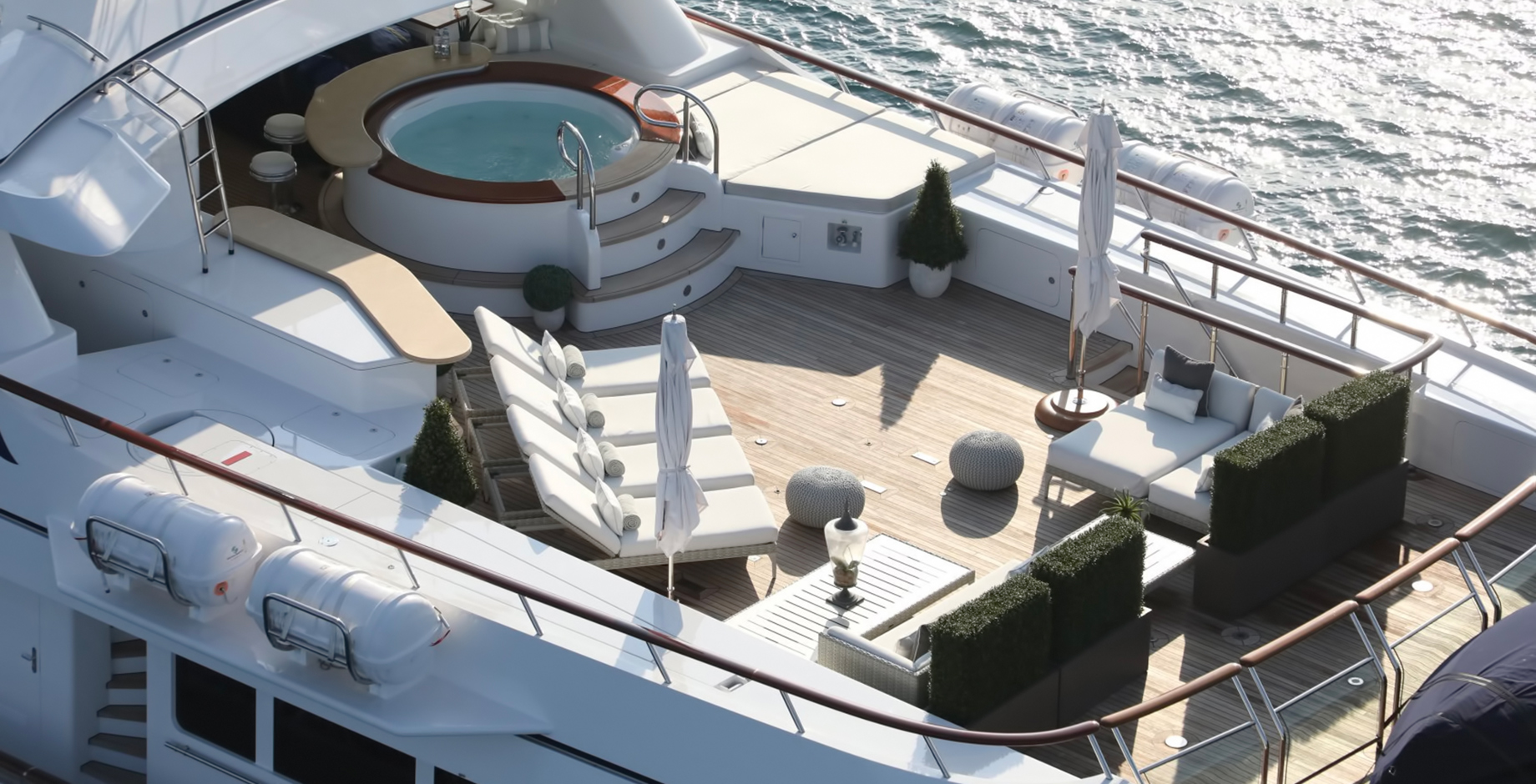 Finding the Right Superyacht for Your Lifestyle - The Skys The Limit For Luxury Yacht Decor