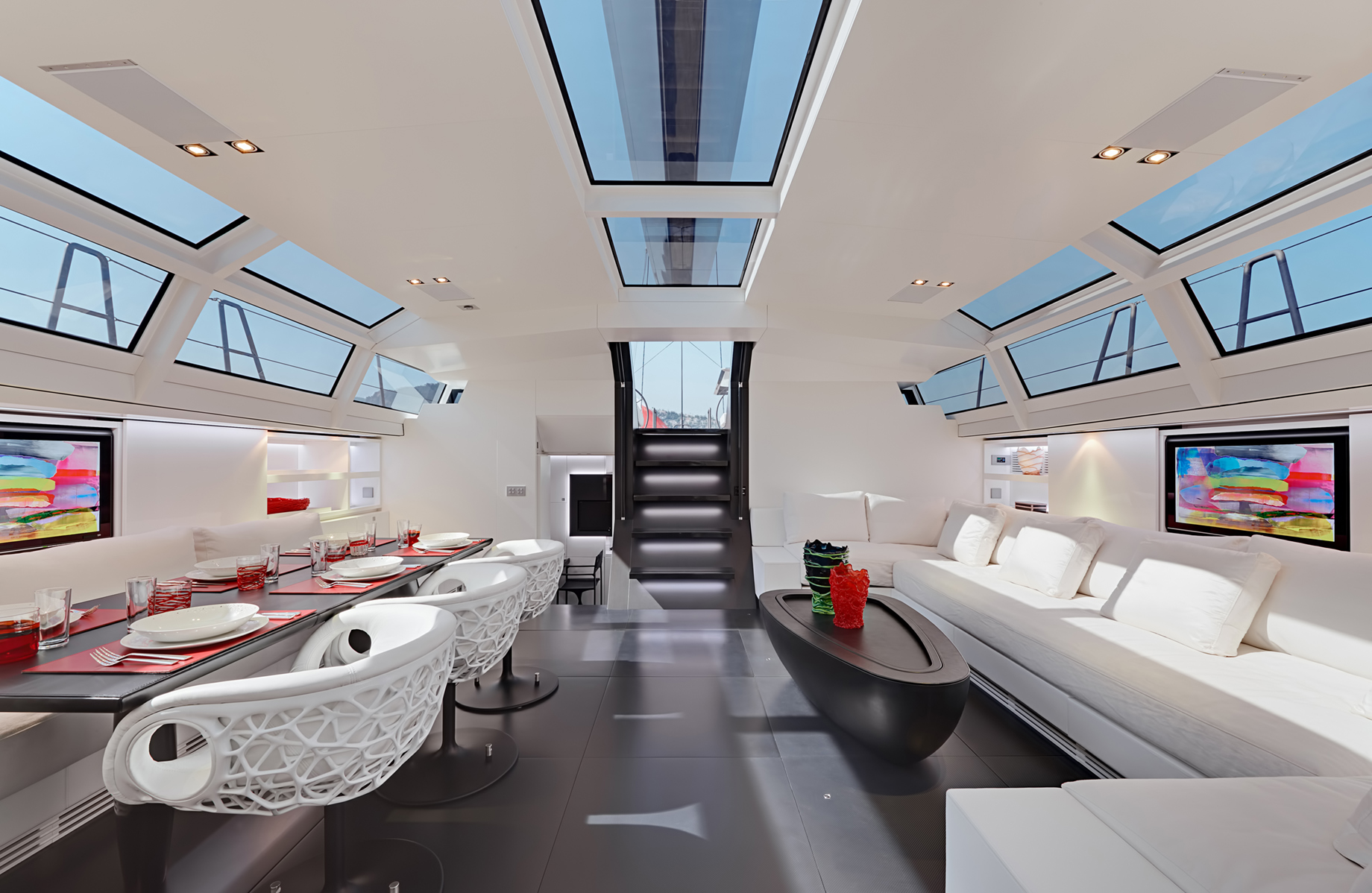 Designing the Interior of a Superyacht – The Skys The Limit For Luxury Yacht Decor