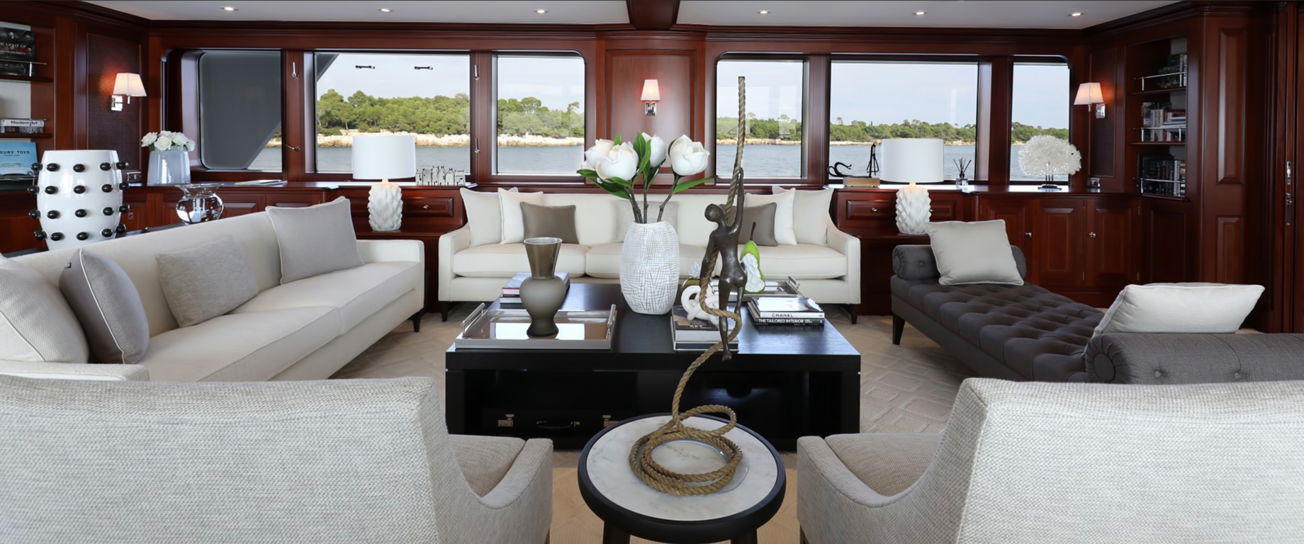 Choosing your Style - The Skys The Limit For Luxury Yacht Decor