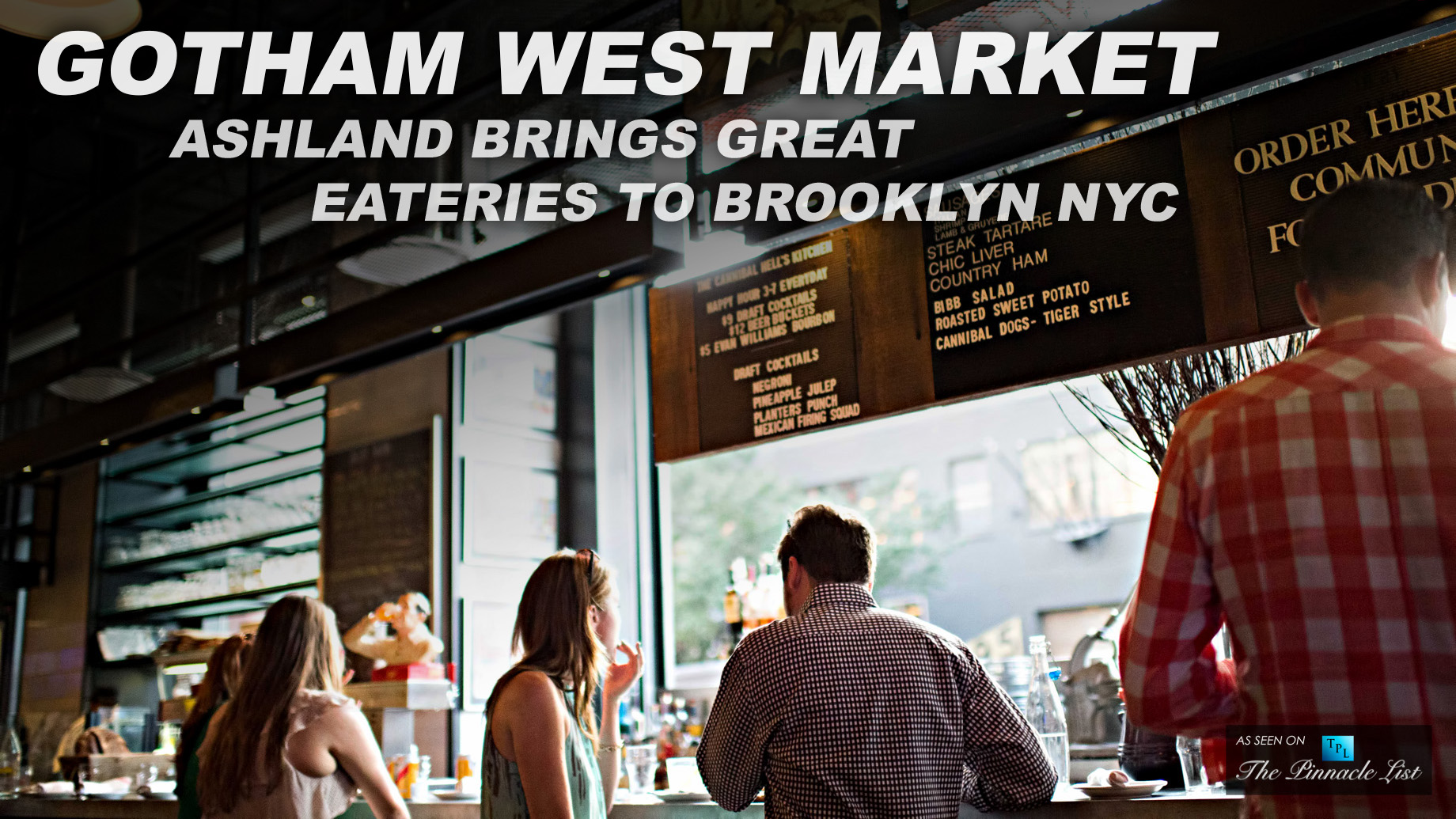 Gotham West Market at the Ashland Brings Great Eateries to Brooklyn NYC