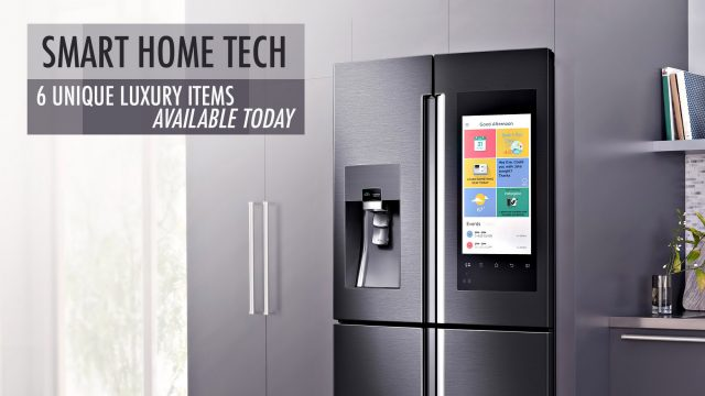 Smart Home Tech - 6 Unique Luxury Items Available Today