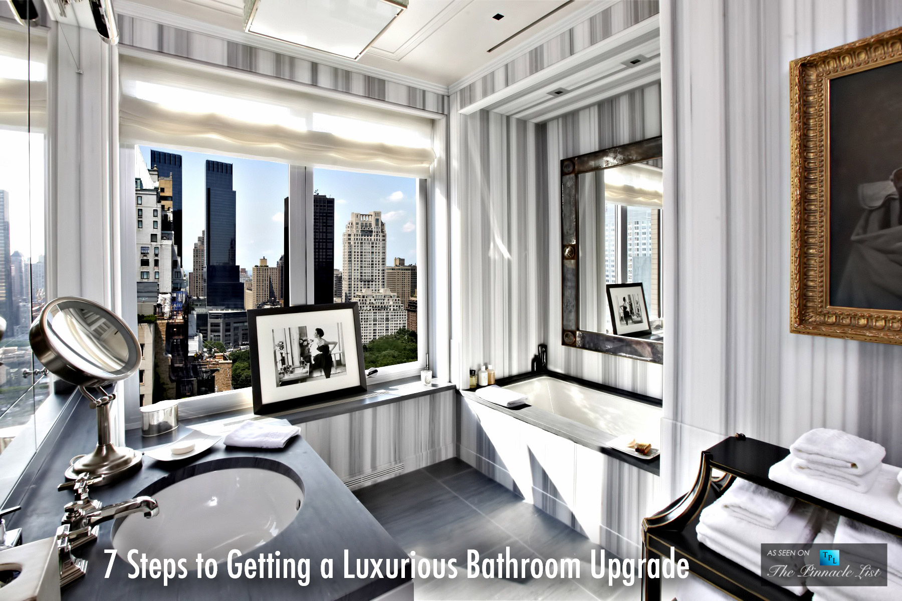 7 Steps to Getting a Luxurious Bathroom Upgrade