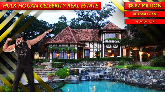 Hulk Hogan's Former $8.87 Million Belleair Estate at 130 Willadel Drive in Florida