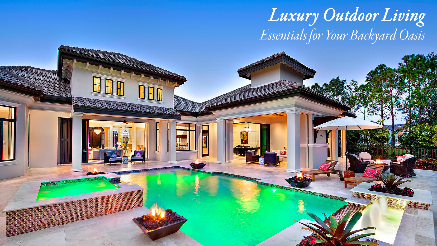 Luxury Outdoor Living - Essentials for Your Backyard Oasis