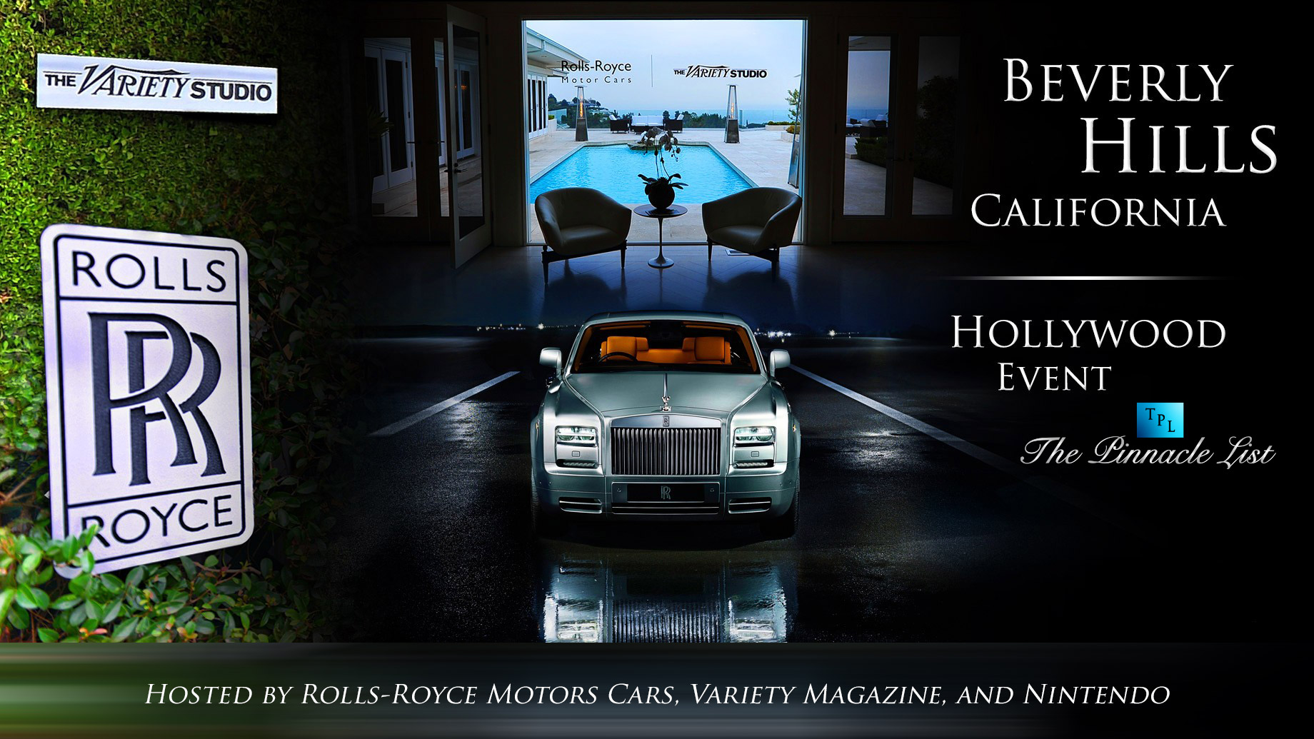 Rolls-Royce Hosts The Variety Studio Event in Beverly Hills, California