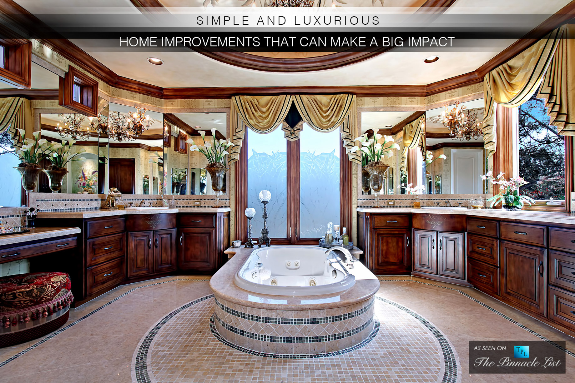 Simple and Luxurious Home Improvements That Can Make a Big Impact