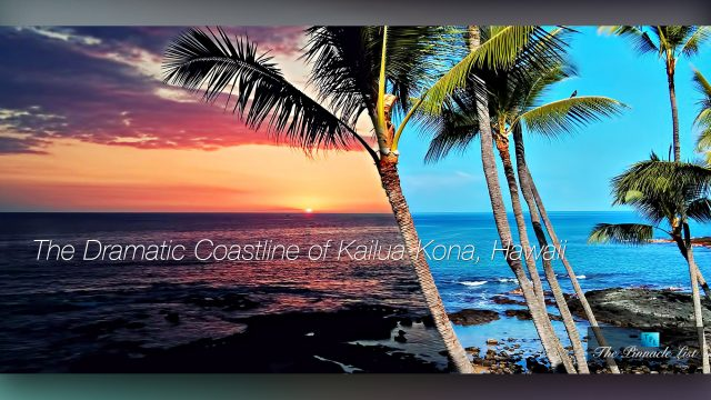 The Dramatic Coastline of Kailua-Kona, Hawaii