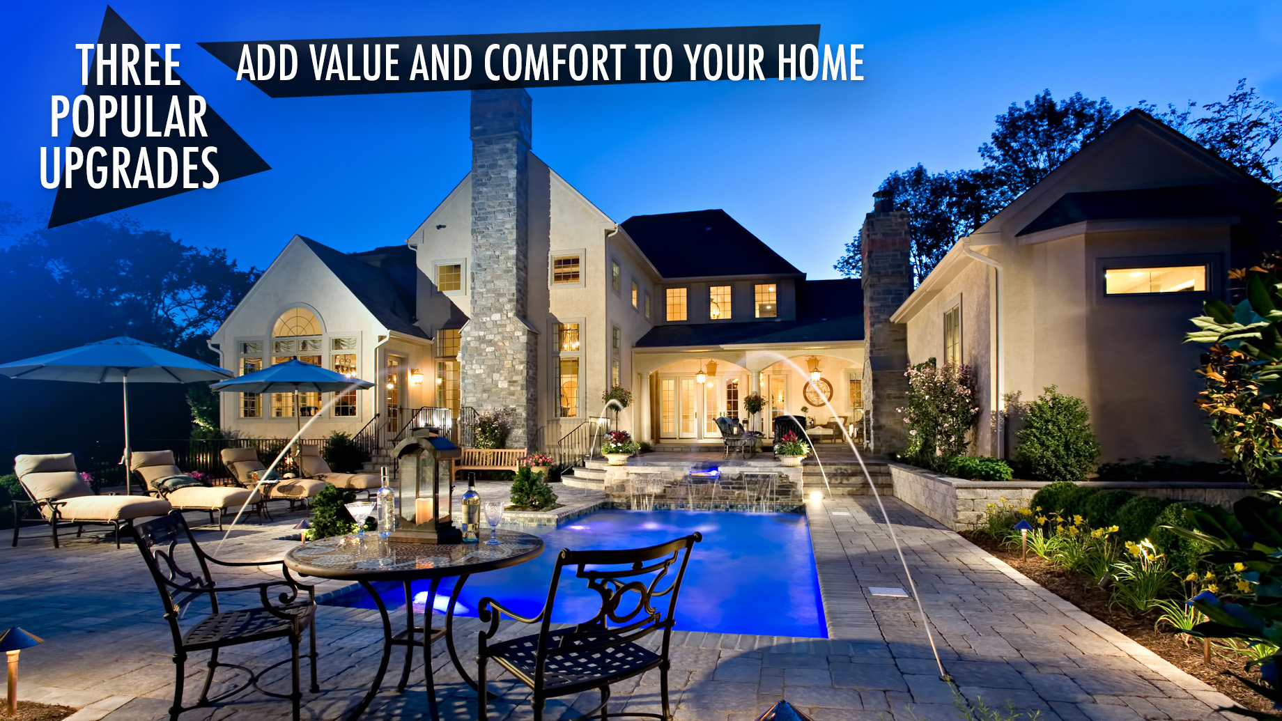 3 Por Upgrades That Add Value And Comfort To Your Home The