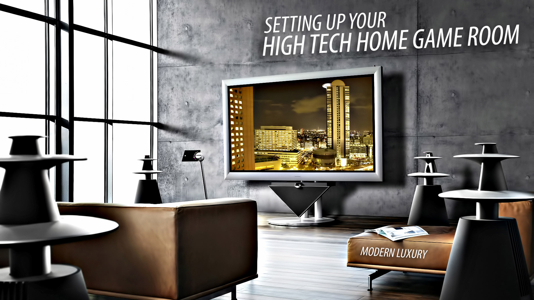 Living in Modern Luxury – Setting Up Your High-Tech Home Game Room