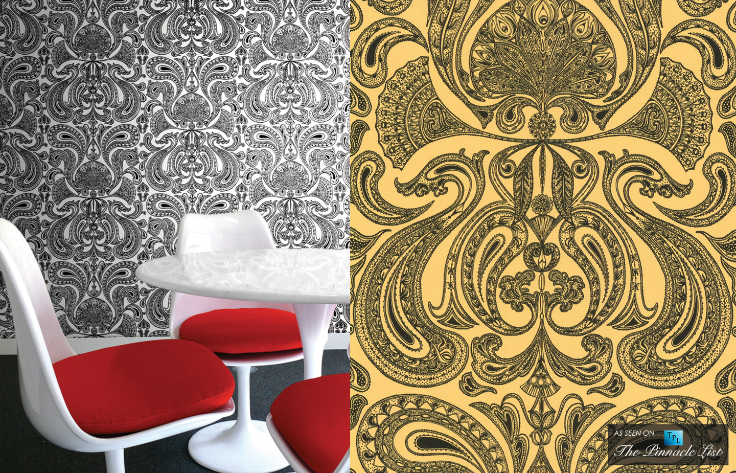 A Lively Backdrop - Geek Gone Luxury Chic - Incorporating Insects Into High Fashion Home Décor
