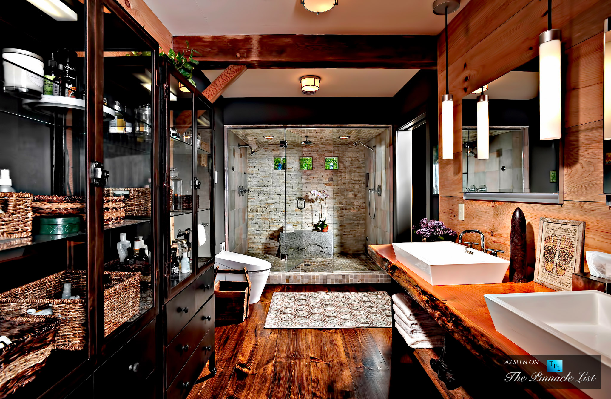 Go Natural - Luxury Home Design - 4 High-End Bathroom Installation Ideas