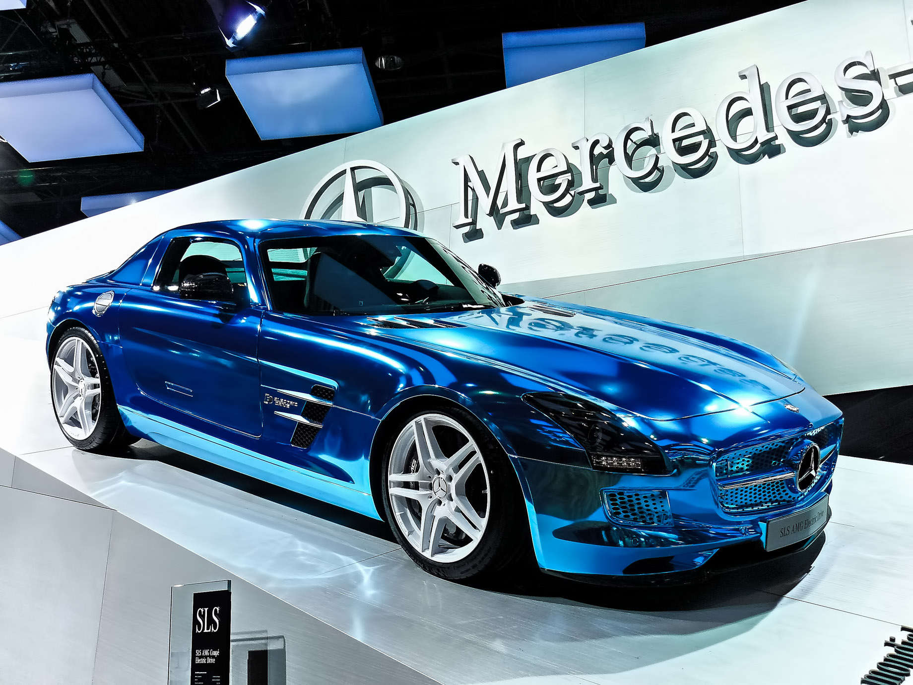 Mercedes-Benz SLS at the 2013 Geneva Motor Show
