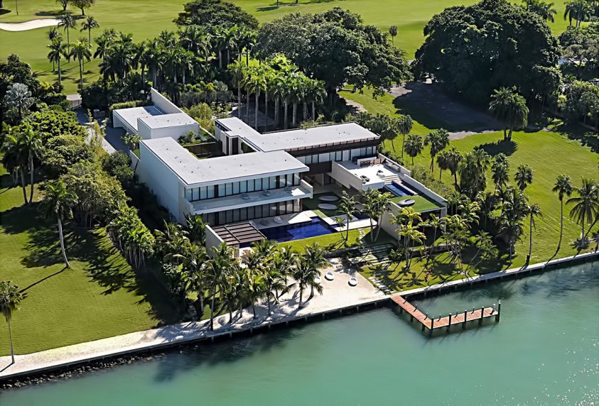 The Most Expensive Home Sold on Record in Miami-Dade, Florida - 3 Indian Creek Island Estate