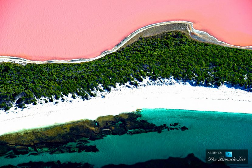 The Remarkable Pink Lake Hillier - Western Australia's Untouched Natural Wonder