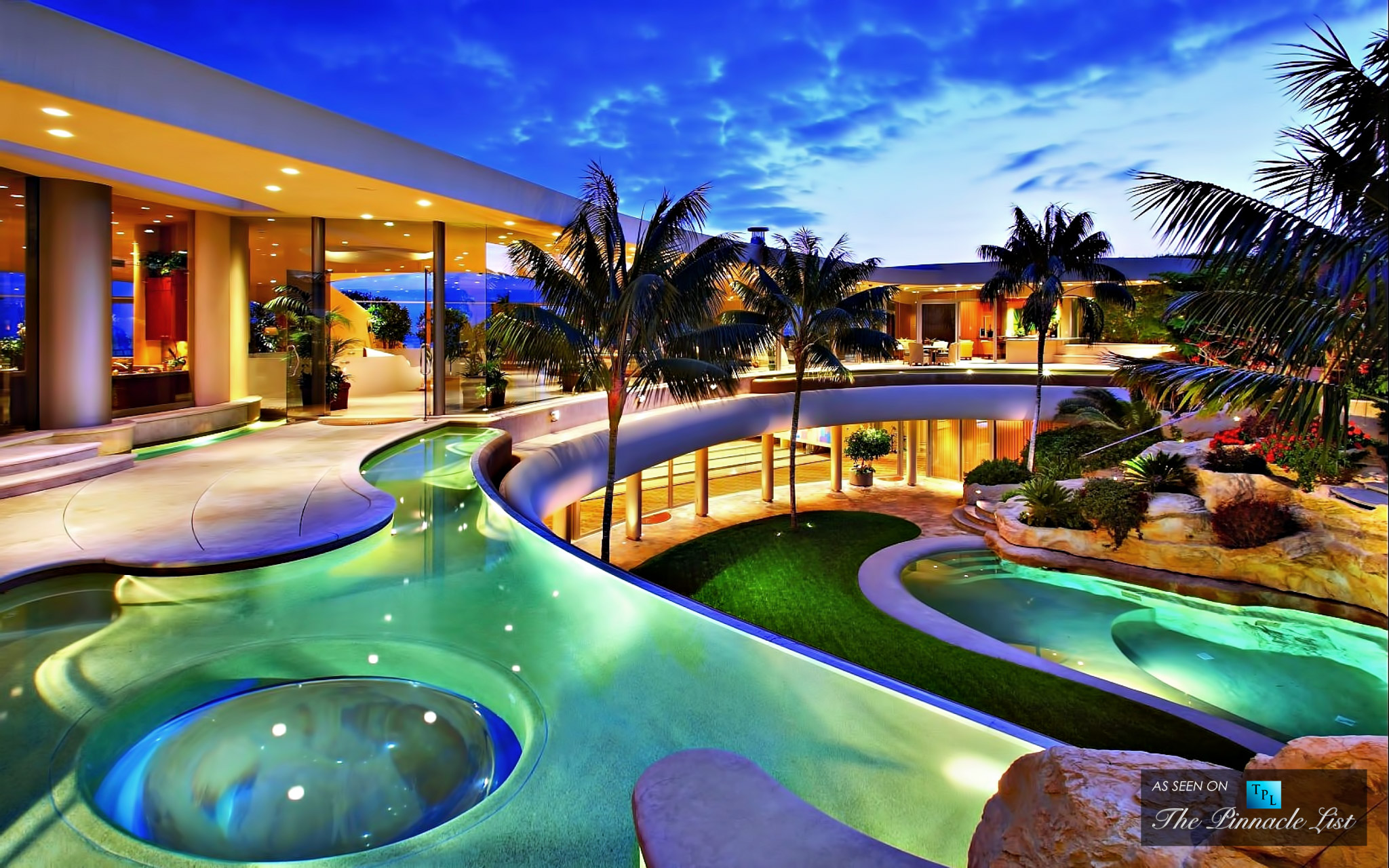 Tropical Lagoon - 5 Luxury Backyard Design Trends for Spring