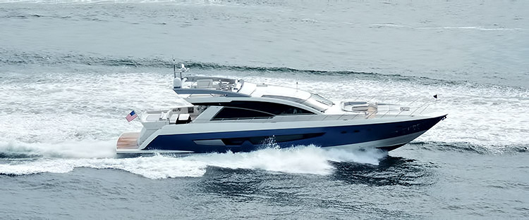 Cheoy Lee 87' Alpha Series Express Sportbridge - New Yachts and Powerboats for the Luxury Boat Market