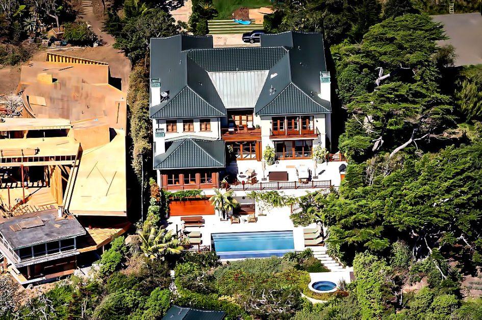 Cindy Crawford Malibu Beach House with Oceanview Infinity Pool