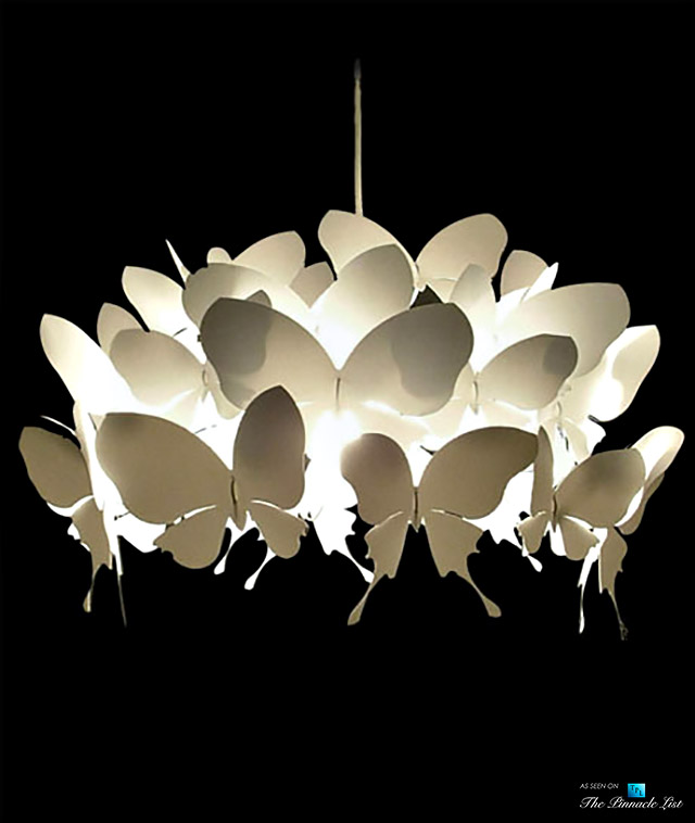 Luxe Lighting - Geek Gone Luxury Chic - Incorporating Insects Into High Fashion Home Décor