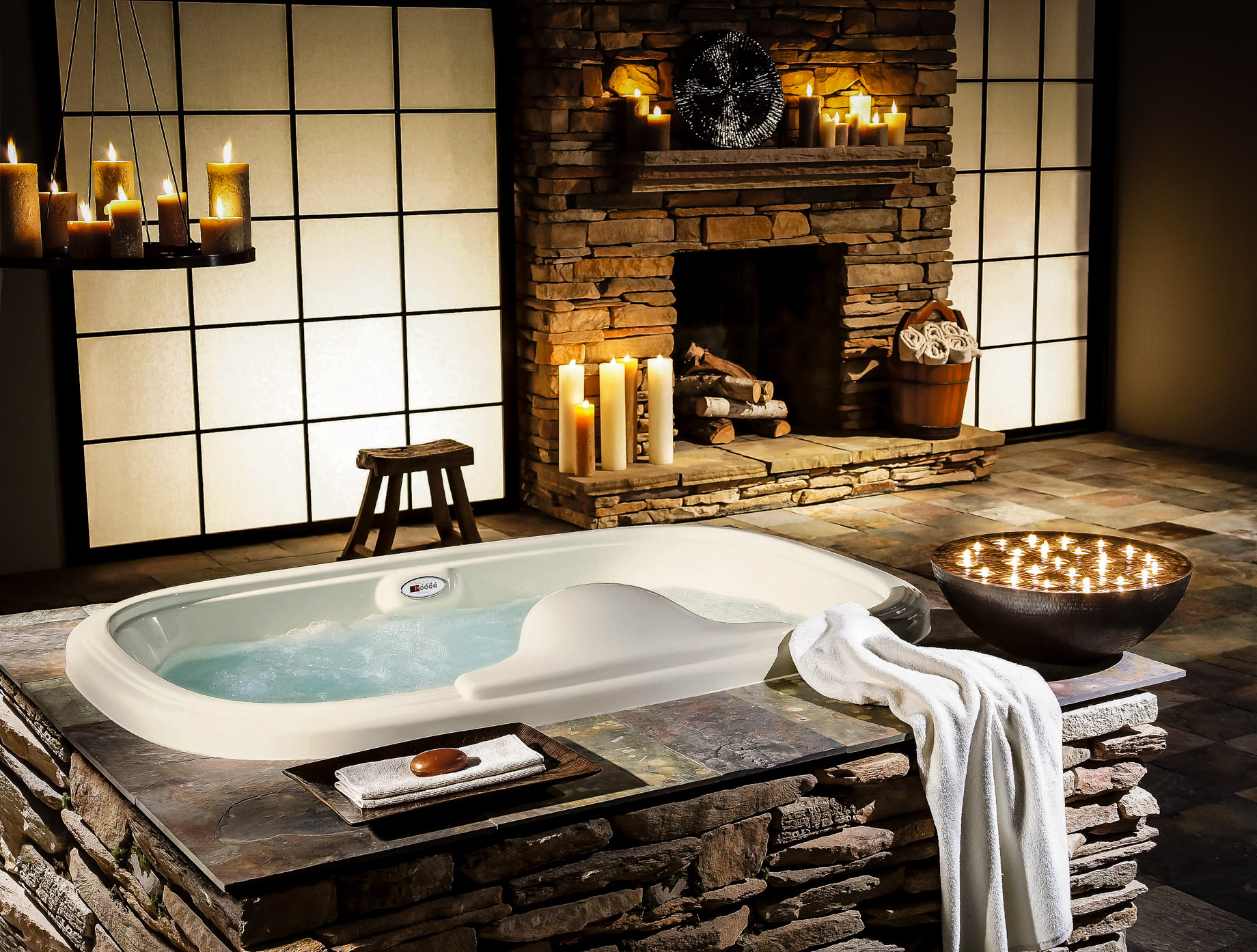 Resort Style Bathrooms is the Epitome of Luxury Home Living