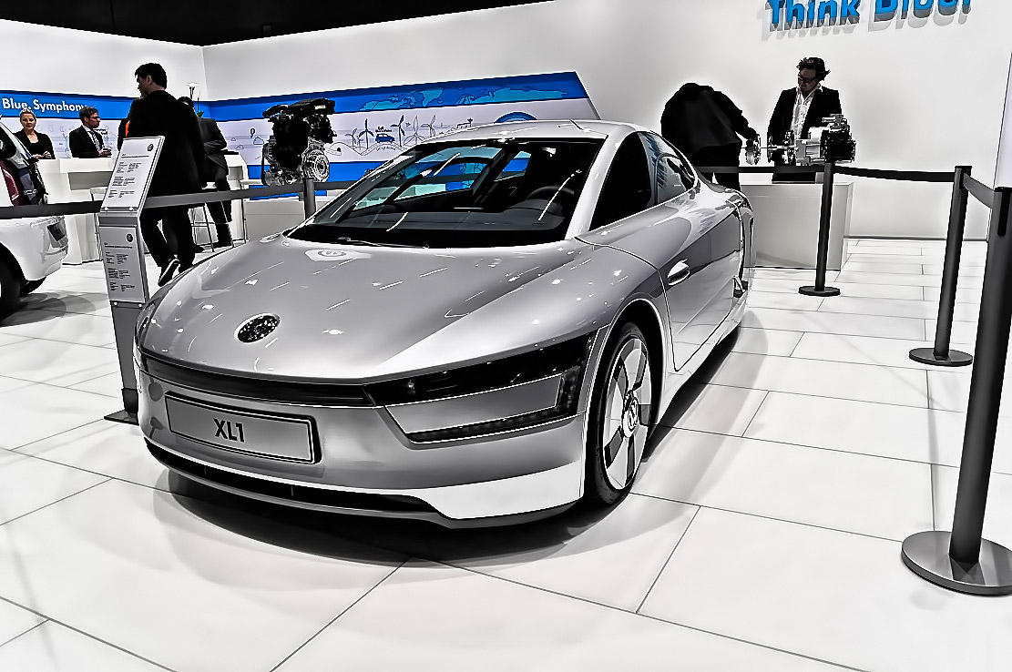 Volkswagen XL1 at the 2013 Geneva Motor Show