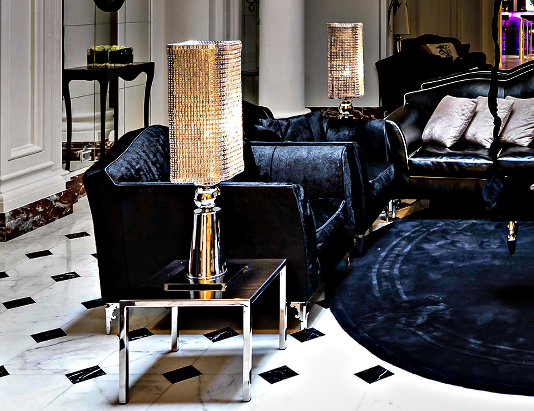 Shimmering Brass Table Lamps Naturally Convey the Aura of Luxury