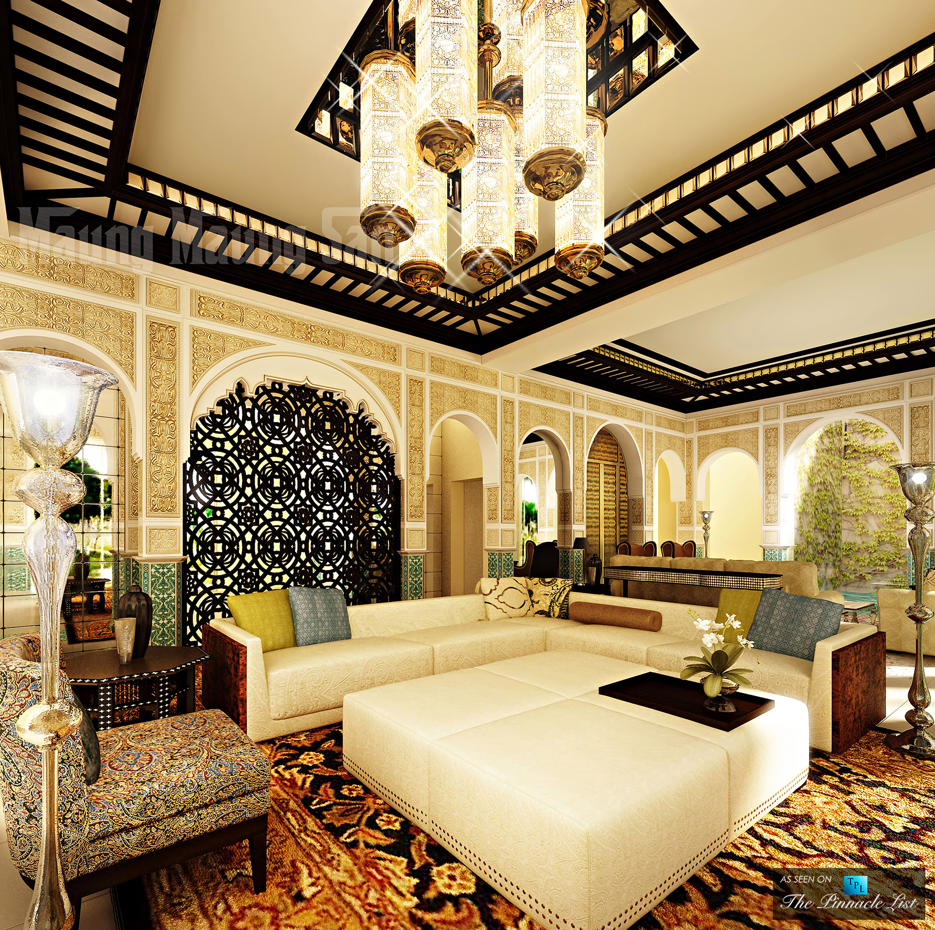 Moroccan Influences - Luxury West Coast Design Trends that Make Your Home Into a Multicultural Melting Pot