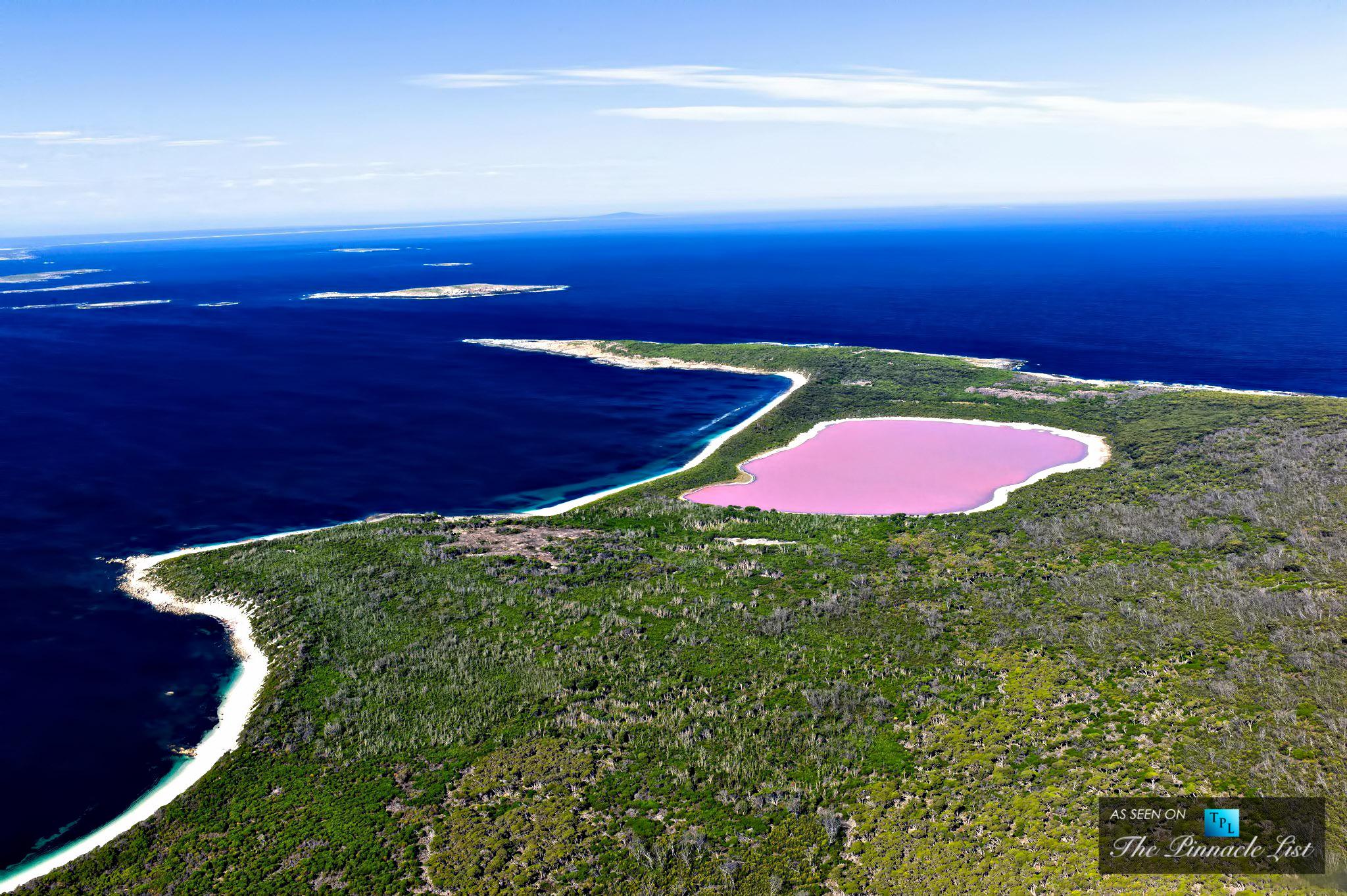 The Remarkable Pink Lake Hillier – Western Australia's Untouched Natural Wonder