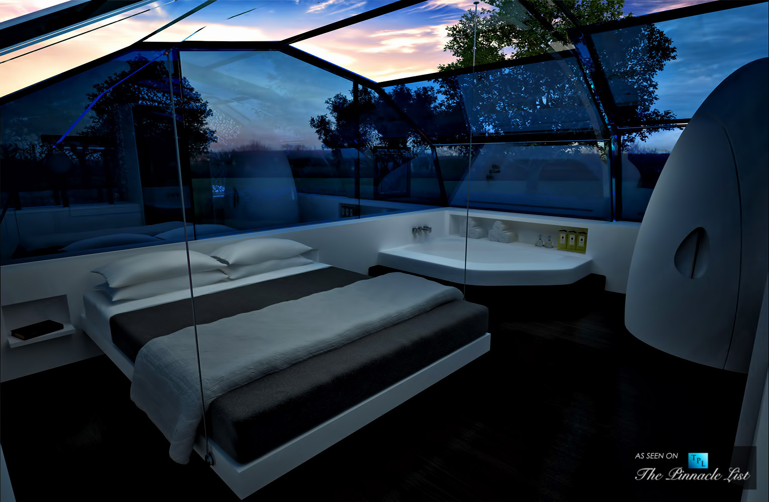 The Photon Space – Imagining an All-Glass Modular Home, Controllable with an iPhone