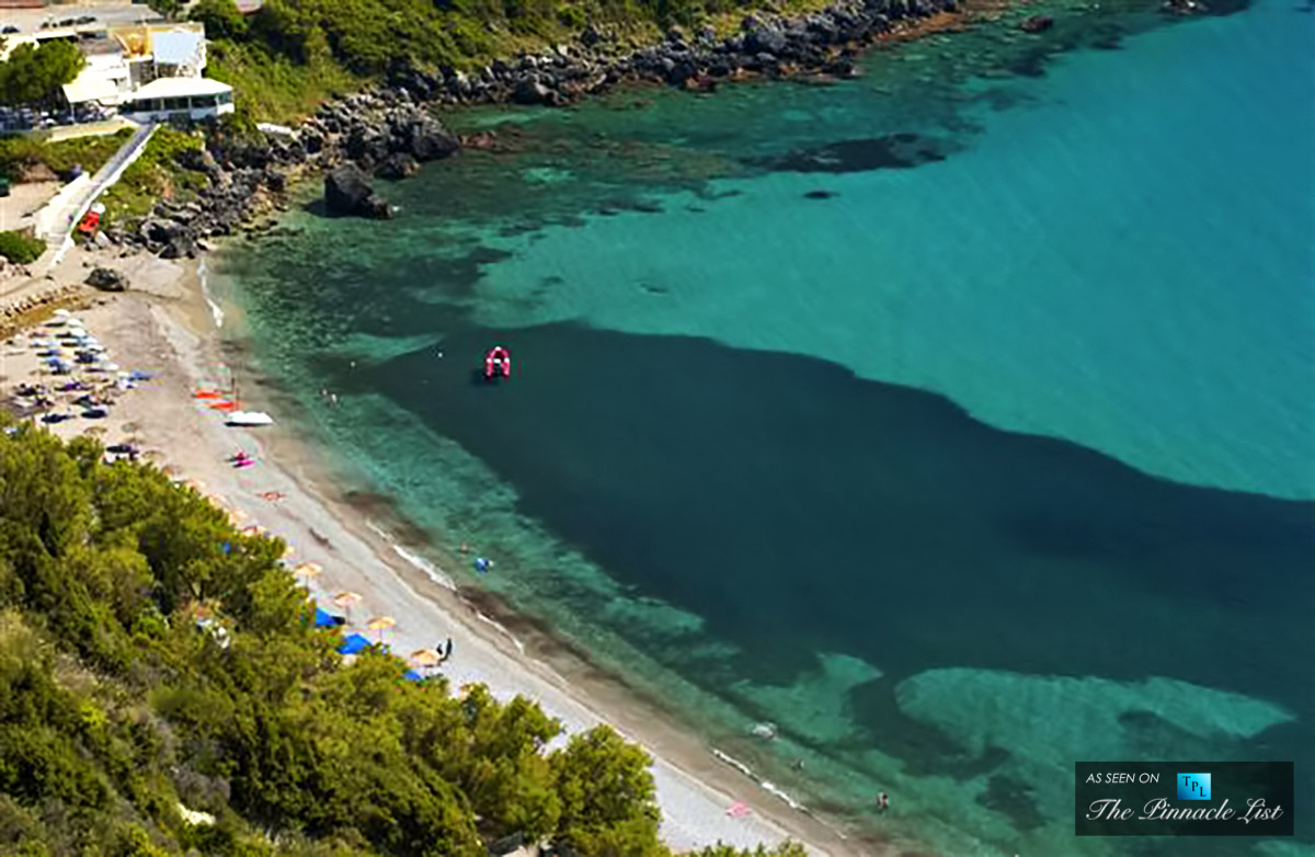$10.5 Million Corfu Island Private Beachfront Property - Luxury Real Estate For Sale in Greece
