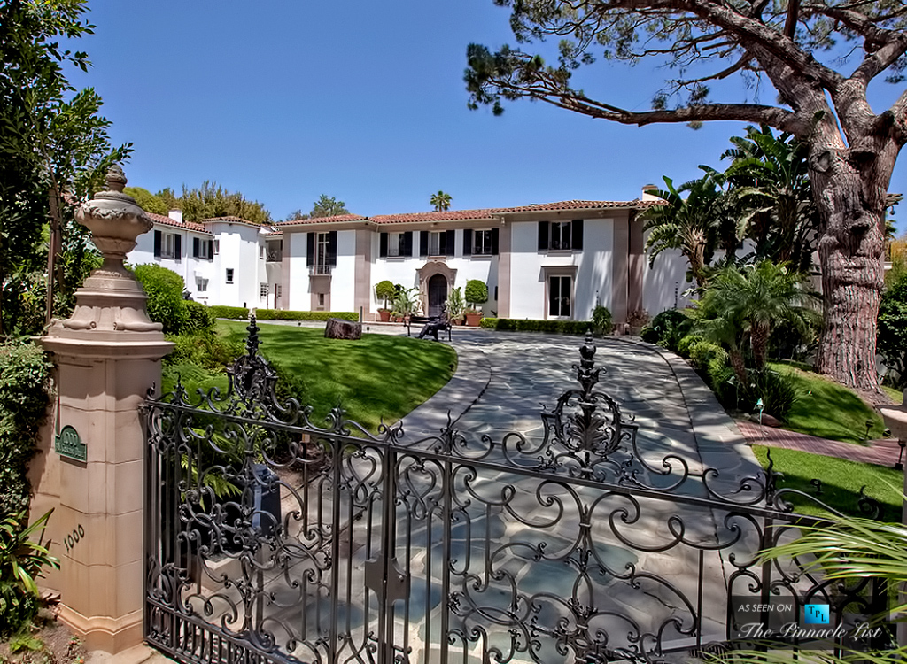 Sold in 2013 for $23 Million - 1000 N Crescent Dr, Beverly Hills, CA 90210