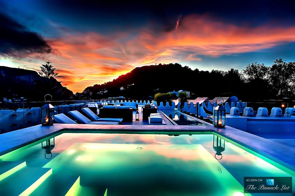 Transforming the 45-Room Hotel Belsito into the Private Villa Ferraro Residence in Capri, Italy