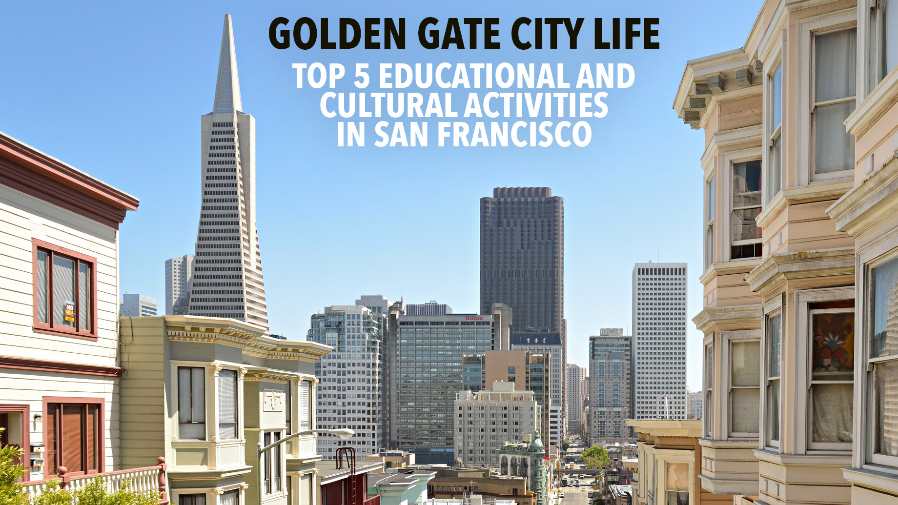 Golden Gate City Life - Top 5 Educational and Cultural Activities in San Francisco