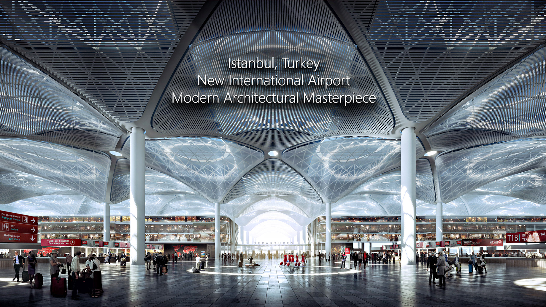 New International Airport in Istanbul, Turkey will be a Modern Architectural Masterpiece