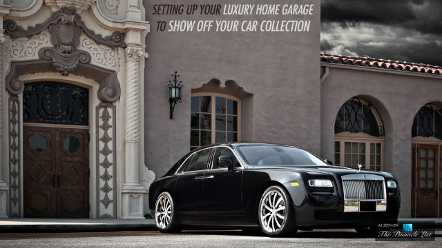 Setting Up Your Luxury Home Garage to Show Off Your Car Collection