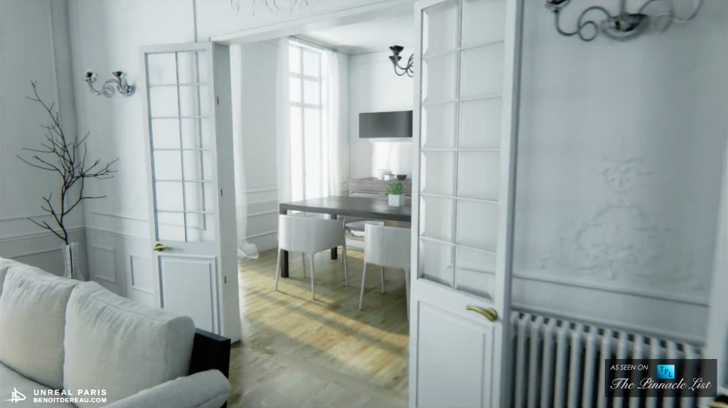 Virtual Reality Paris Apartment - Only Your Imagination Can Live Here