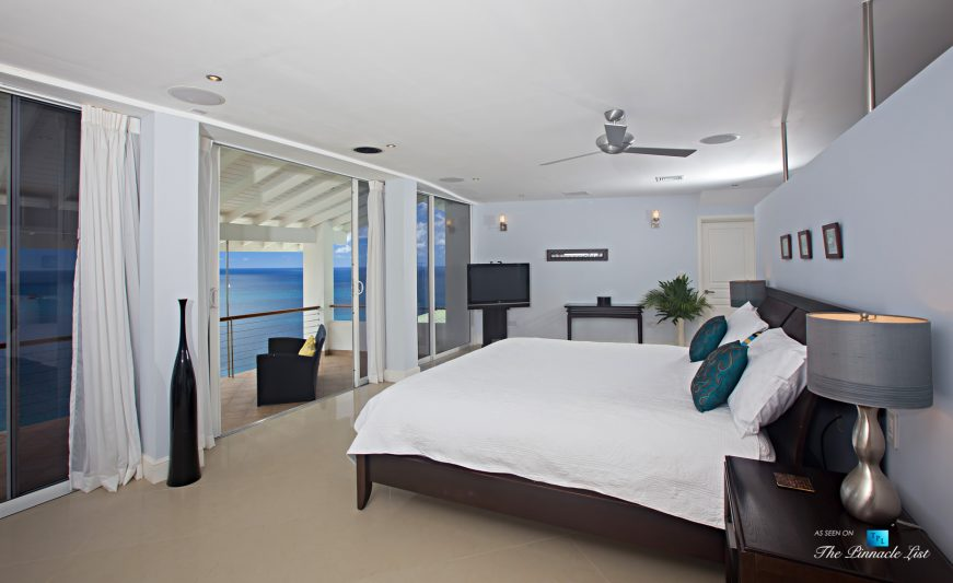 Akasha Luxury Caribbean Villa - Cap Estate, St. Lucia - Master Bedroom - Luxury Real Estate - Premier Oceanview Home