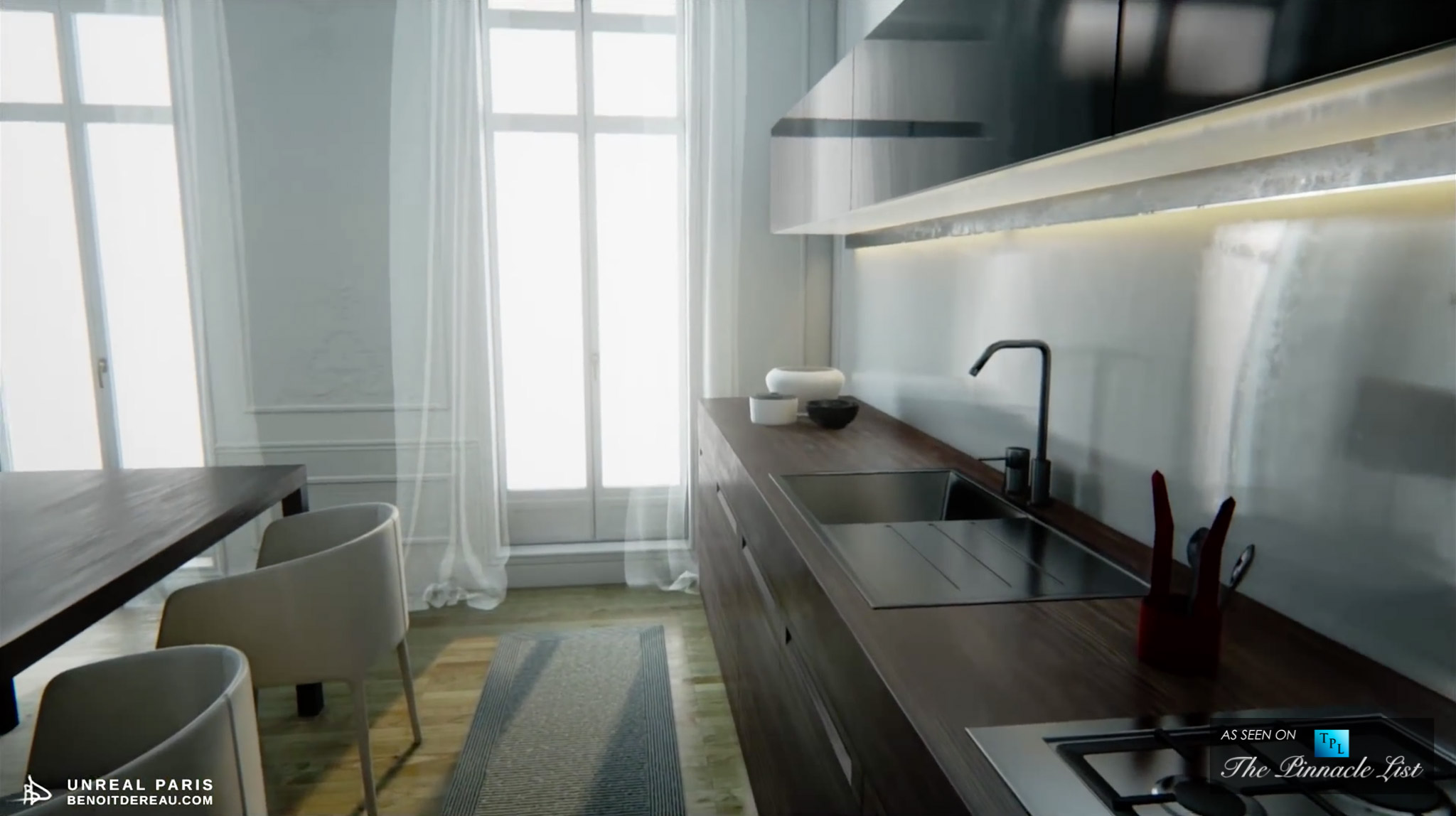 Virtual Reality Paris Apartment – Only Your Imagination Can Live Here