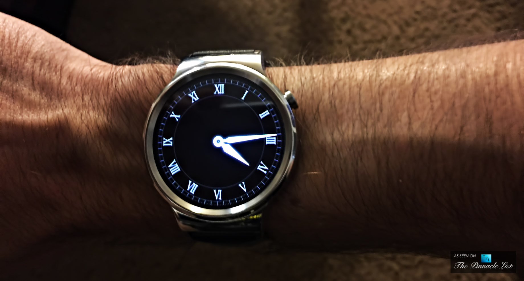Google Huawei Watch - 7 Must Have Wearable Tech Luxury Brands